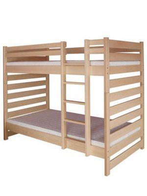 łóżko bukowe piętrowe CLP119