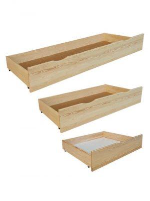 szuflada do łóżka sosnowa CLP123
