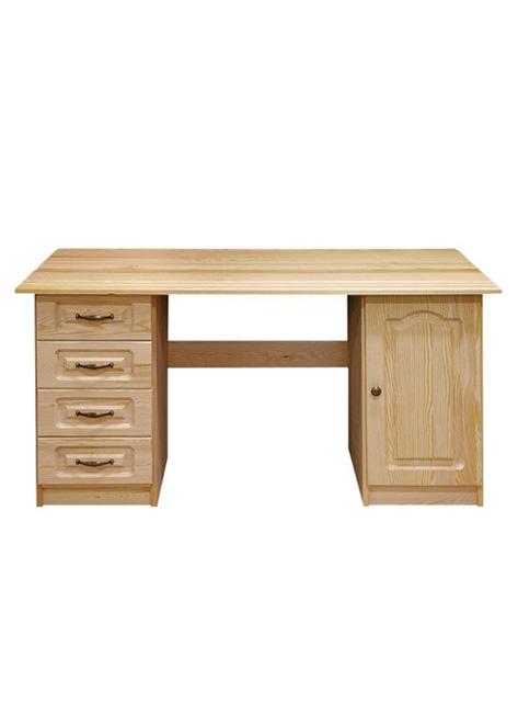 biurko sosnowe 140 WB18