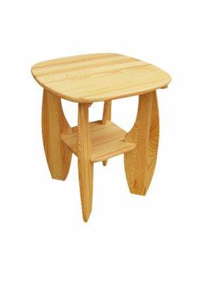 stolik drewniany sosnowy CLA490