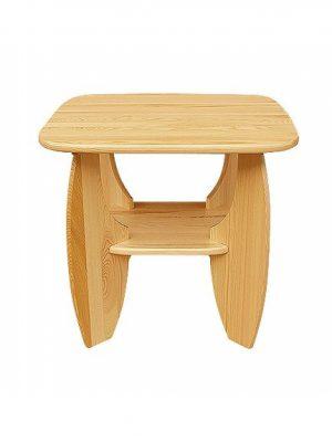 Stolik drewniany sosnowy CLA491