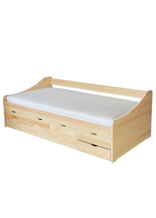 łóżko sosnowe CLS94