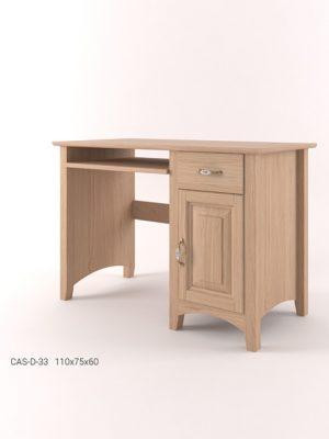 Biurko dębowe CAS-D-33