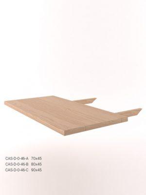 Dostawka do stołu dębowego CAS-D-46